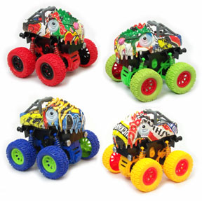 Stunt Toy Cars - Dinosaurs