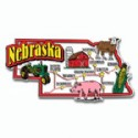 Souvenir Magnets Nebraska
