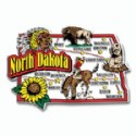 Souvenir Magnets North Dakota