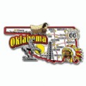 Souvenir Magnets Oklahoma