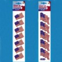 Small American Flag Stickers Card Is 1 Piece