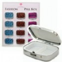 Pill Boxes - Animal Print Design