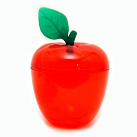 Plastic Apple Trinket Holder