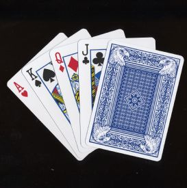 Playing Cards Eagle Brand