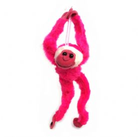 Plush Toys Hanging Monkey Pink