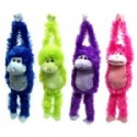 Plush Animal Hanging Monkeys