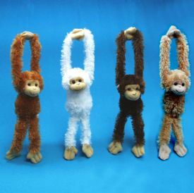 Plush Toy Hanging Monkey