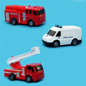 Rescue Vehicles - Fire Truck - Ambulance