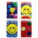 Smiley Face Spiral Note Pad