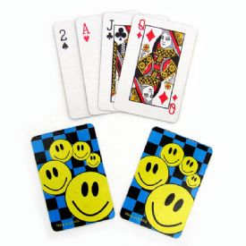 Smiley Face Mini Playing Cards