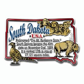 Souvenir Magnets South Dakota