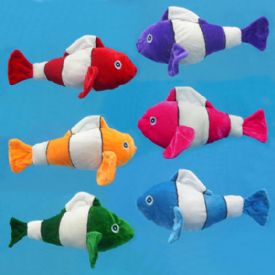 Stuffed Toy Fish