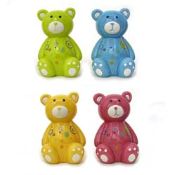 Teddy Bear Coin Banks