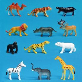 Toy Zoo Animals Bulk Wholesale Toy Animals Akron Novelty Com
