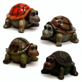 Bobble Head Turtle Figurines