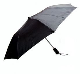 Black Folding Umbrella Auto Open