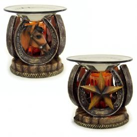 Scented Oil Warmer - Western Theme