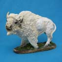 White Buffalo Figurine - Bison Figurine