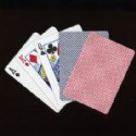 Playing Cards Plain Red And Blue