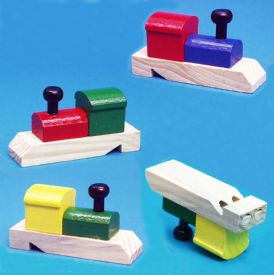 Wooden Train Whistles, Train Shaped Whistles, Train Whistle