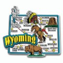 Souvenir Magnets Wyoming